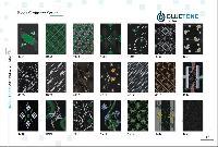 200x300 mm black ordinary wall tiles