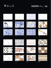 200x300 mm blue digital wall tiles from india
