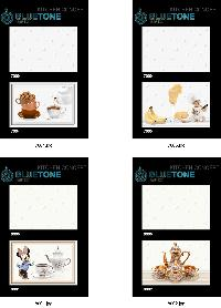 30x45 cm white kitchen digital wall tile