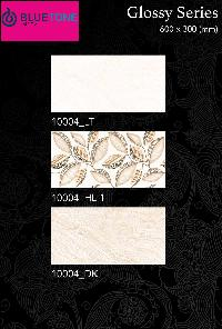 30x60 cm glossy digital wall tiles with cream color