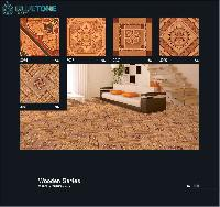 395x395 Mm Digital Floor Tiles With Wood Finish