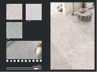 800x800 rustic matt vitrified tiles with grey color from india