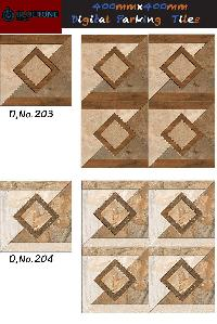 decorative parking tiles 40x40 cm