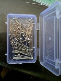 Silver Heads Pins
