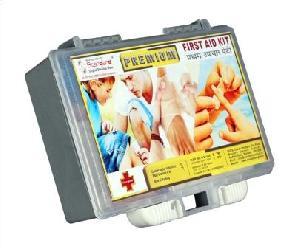 Premium Plastic First Aid Box