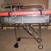 Patient Transfer Unit - 2 Tier Stretcher Cum Trolley