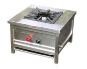 Stock Pot (Single Burner Range), Low height