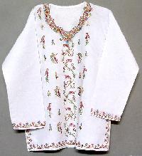 kashmiri cotton kurtis