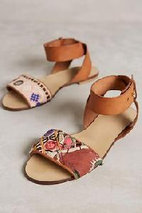 Hand Work Embroidery Casuals Sandals