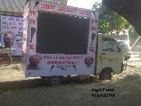 Led Mobile Van On Rent & Led Hydraulic Screen Truck for Bihar