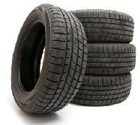 Old Car Tyre Scrap