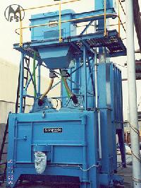 Auto Containerised Airless Shot Blasting Machine