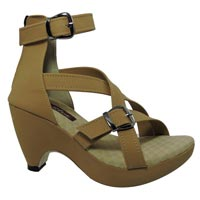 Ladies Veg Heel Shoes
