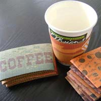 Disposable Paper Cup Sleeves
