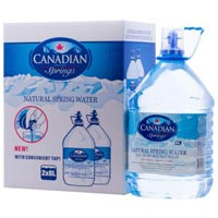 Canadian Springs Polycarbonate Water Bottles