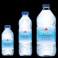 Crystal Springs Canada PET Water Bottles