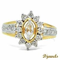 Marcia Solitaire Ring