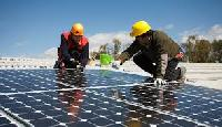 Solar Power Unit For Commercial Buildings