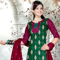 Hand Embroidery Cotton Suits
