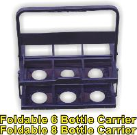 Foldable Water Bottle Carrier