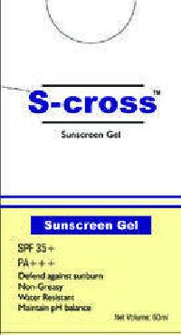 S-cross 35+ Blue Gel Sunscreen
