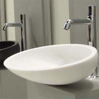 Oval Shaped Wash Basin