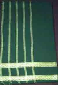Double Pate Handloom Cotton Saree