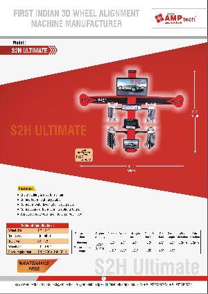 3D wheel alignmnet machine
