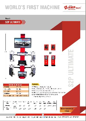 Customised 3D Wheel alignmnet machine