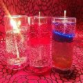 Decorative Designer Glass Gel Handmade Candles
