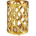 gold plated candle votive
