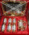 Brass Gold Polish Jug Set