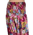 Silk Multicolor Girl Harem Pant Trouser