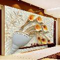 3D Embossed Wall Paintings