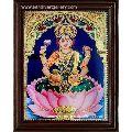 Goddess Lakshmi Tanjore Paintings