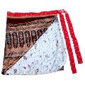 Short Wrap Silk Skirt