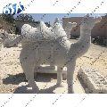 White Sandstone Camel Statue