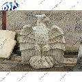 White Sandstone Eagle Statue
