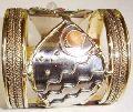 Metal cuff Bangle