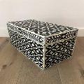Handmade Natural Bone Inlay Box