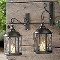 Tealight Candle Holder Metal Lantern Lamp