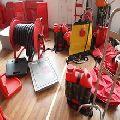 Good plastic fire extinguisher box
