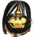 german pickelhaube Long spike hair helmet