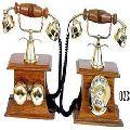 Wooden Antique Telephones