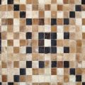 Cowhide Patchwork Leather Carpet