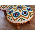 Hand Embroidery Foot Stool