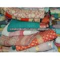Handmade Cotton Kantha Blanket