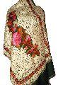 Embroidered Kashmiri Wool Stole