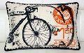 CYCLE Art Image Printed Cushion Cover