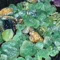 Natural Green Fluorite Rough Stone